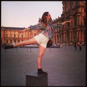 Katherine in Paris, June 2013