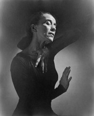 Martha Graham, in 1948