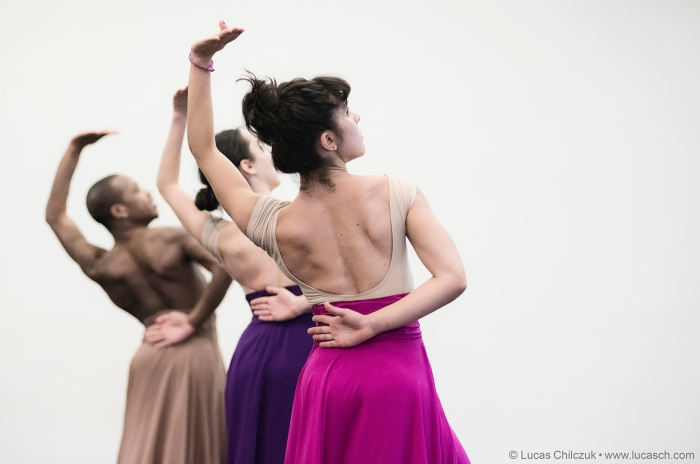 Trainor Dance members in rehearsal. Photo by Lucas Chilczuk