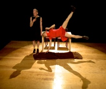 "Amy Chavasse will present the duet ""Deux Dogtooth"" this weekend at Triskelion Arts. Photo by Glen Berring."