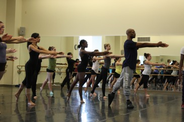 Antonio Douthit-Boyd began his dance training at COCA, and is an advocate for the organization's supporting programs.