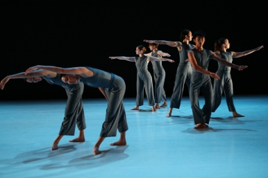 "Dancers in Molissa Fenley's ""Amdo."" Photo: Julieta Cervantes"